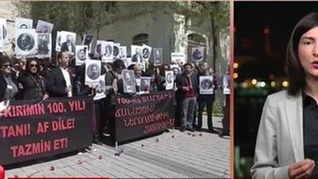 """La Turquie n'accepte pas le """"génocide"""" des Arméniens"""