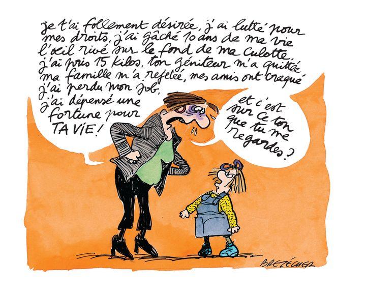 """Claire Brétécher, """"Petits travers"""" (DARGAUD)"""