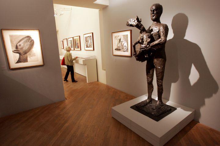 L'Homme au mouton - Musée Picasso (Paris) (MEHDI FEDOUACH / AFP)