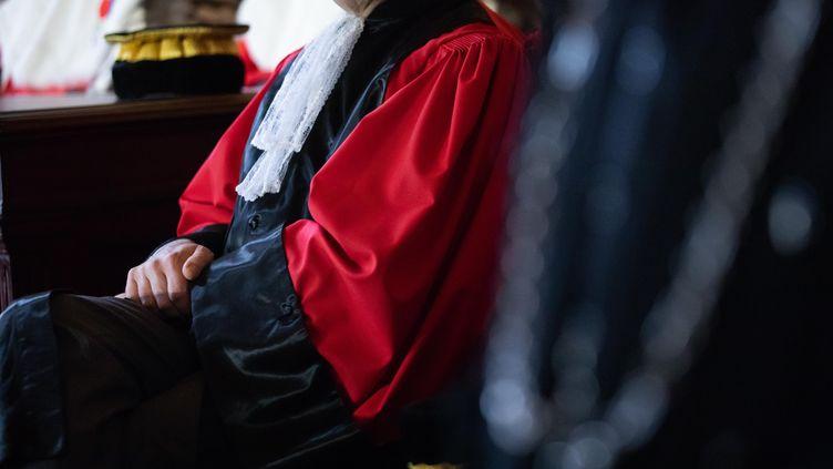 Audience solennelle de début d'année judiciaire de la Cour de cassation. Photo d'illustration. (ALEXIS SCIARD  / MAXPPP)