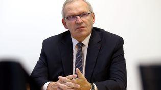 Patrick Weiten, président du Conseil départemental de la Moselle, le 16 octobre 2017. (PIERRE HECKLER / MAXPPP)