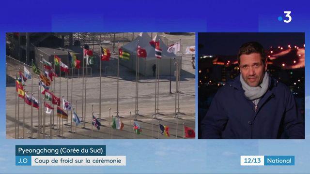 Jeux olympiques d'hiver 2018 : des températures glaciales annoncées pour la cérémonie d'ouverture