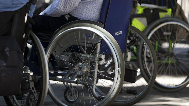 Image d'illustrationchaise roulante (KENZO TRIBOUILLARD / AFP)