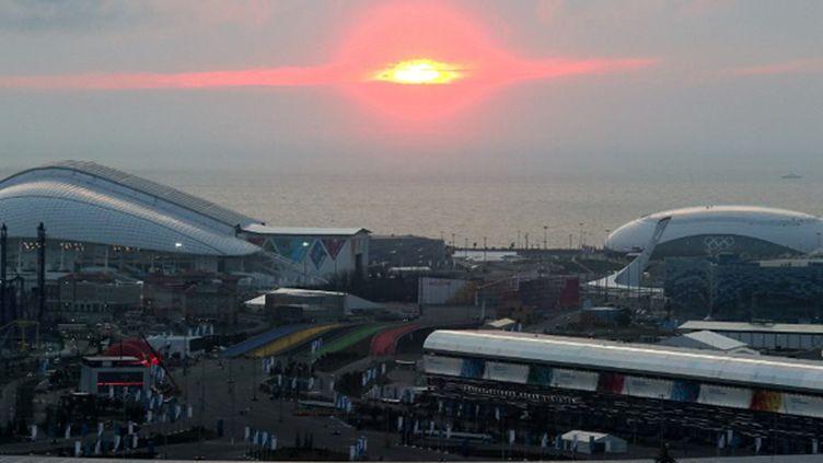 Le site olympique de Sotchi (VITALIY BELOUSOV / RIA NOVOSTI)