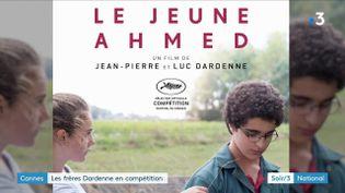 """L'affiche du film """"Le jeune Ahmed"""" (France 3)"""