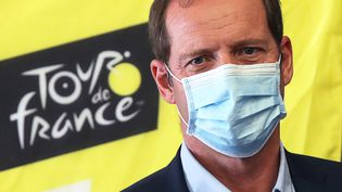 Christian Prudhomme, le 19 août 2020 (VALERY HACHE / AFP)