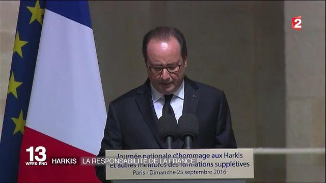 La France reconnaît sa responsabilité dans l'abandon des harkis