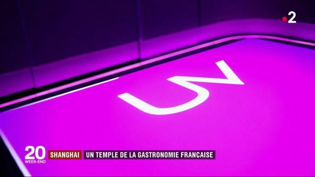 Shanghai, le nouveau temple de la gastronomie française