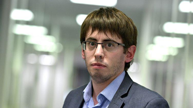 Quentin Guillemain,le président de l'Association des familles de victimes du lait contaminé aux salmonelles, l'AFVLCS. (MAXPPP)