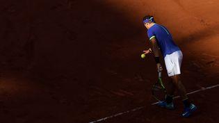 Rafael Nadal à Roland-Garros, le 9 juin 2017. (PHILIPPE MILLEREAU / AFP)