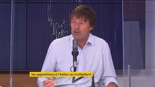 Nicolas Hulot, ancien ministre la Transition écologique, était l'invité du 8h30 franceinfo le 30 juin 2021. (FRANCEINFO / RADIOFRANCE)