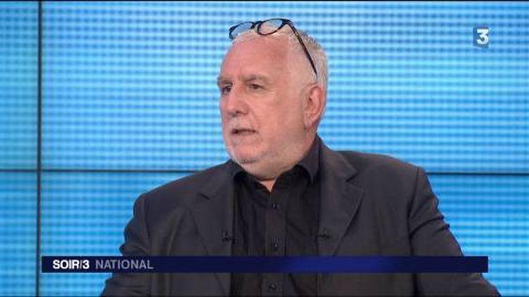 Alain Hamon, grand reporter spécialisé police-justice. (FRANCE 3)