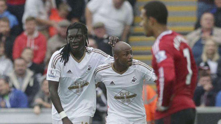 Le duo Ayew-Gomis fait plier Manchester United