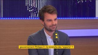 BrunoJulliard,premier adjoint à la maire de Paris, invité de franceinfo samedi 24 juin. (RADIO FRANCE / FRANCEINFO)