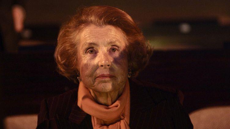 (Liliane Bettencourt à la remise du prix Unesco -L'Oréal en 2009 à Paris © Maxppp)