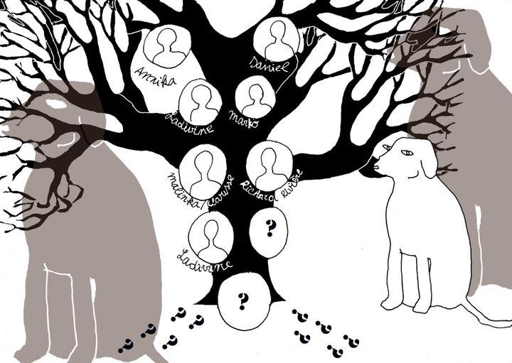 L'arbre généalogique et le grand chien  (Laurence Houot / Culturebox)