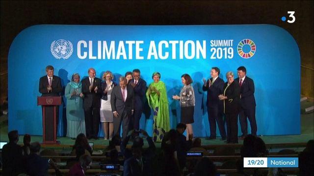 Sommet sur le climat : pas d'engagements des gros pollueurs à l'ONU