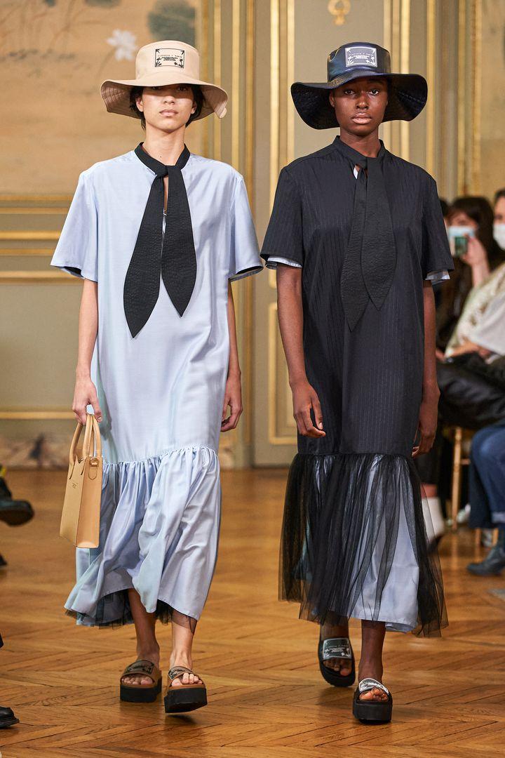 Défilé Victoria/Tomas pap printemps-été 2021 à la Paris Fashion Week, le 29 septembre 2020 (ALESSANDRO LUCIONI / GORU)
