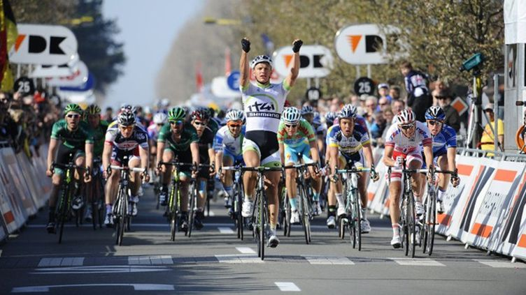 "L'Allemand Marcel Kittel du team ""Project 1T41"" s'impose au sprint"