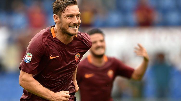 Francesco Totti à la Roma. (ALBERTO PIZZOLI / AFP)