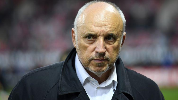 René Ruello, président du Stade Rennais (DAMIEN MEYER / AFP)