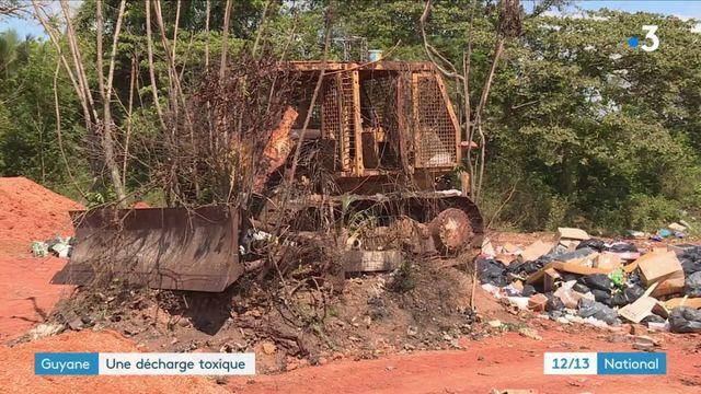 """Environnement : une décharge de la """"honte"""" en Guyane"""