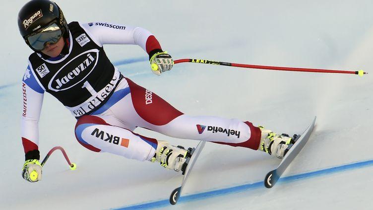 La skieuse suisse Lara Gut (PHILIPPE DESMAZES / AFP)