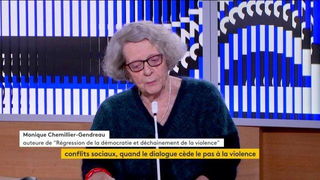 """""""Il y a trop de laissés pour compte dans les démocraties"""", pour Monique Chemillier-Gendreau"""