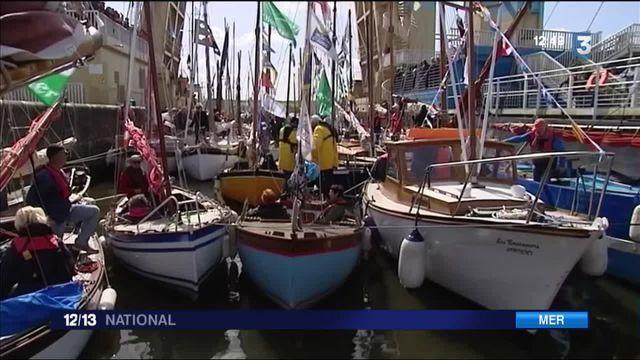 Bretagne : la Vilaine accueille les vieux bateaux