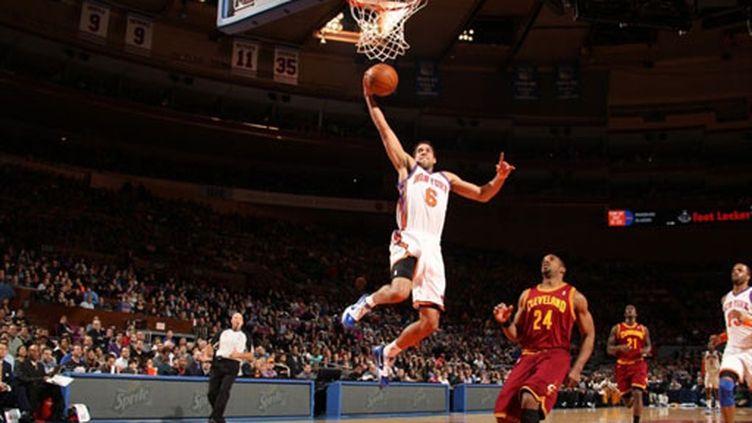 Bill Walker monte au dunk pour les New York Knicks