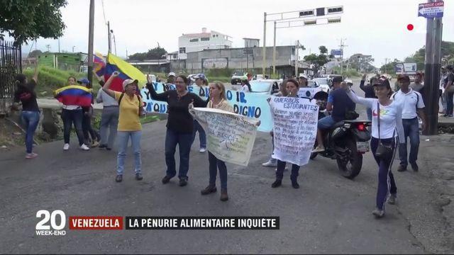 Venezuela : l'aide humanitaire bloquée à la frontière
