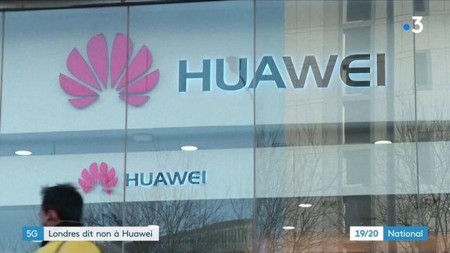 5G : Londres dit non à Huawei