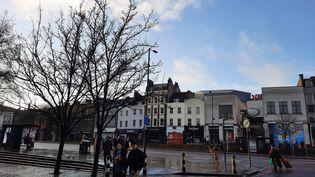 Dans les rues de Londres au Royaume-Uni, samedi 16 janvier. (RICHARD PLACE / RADIO FRANCE)