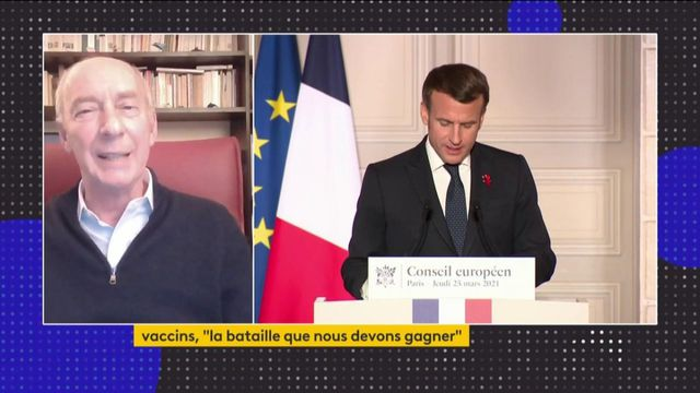 Prise de parole d'Emmanuel Macron - ITW Juliani