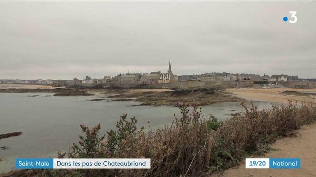 Saint-Malo : dans les pas de Chateaubriand