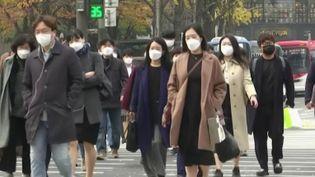 Corée du Sud : les cas de Covid-19 repartent à la hausse (FRANCE 2)