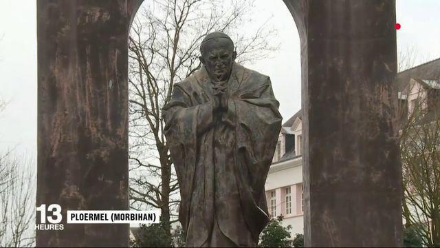 Bretagne : la statue de Jean-Paul II vendue à l'Église