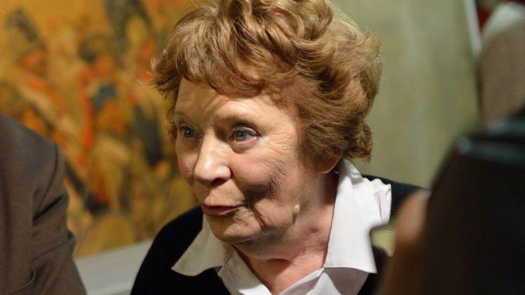 Liliane Marchais, le 19 novembre 2012, au siège du PCF, à Paris. (ERIC FEFERBERG / AFP)