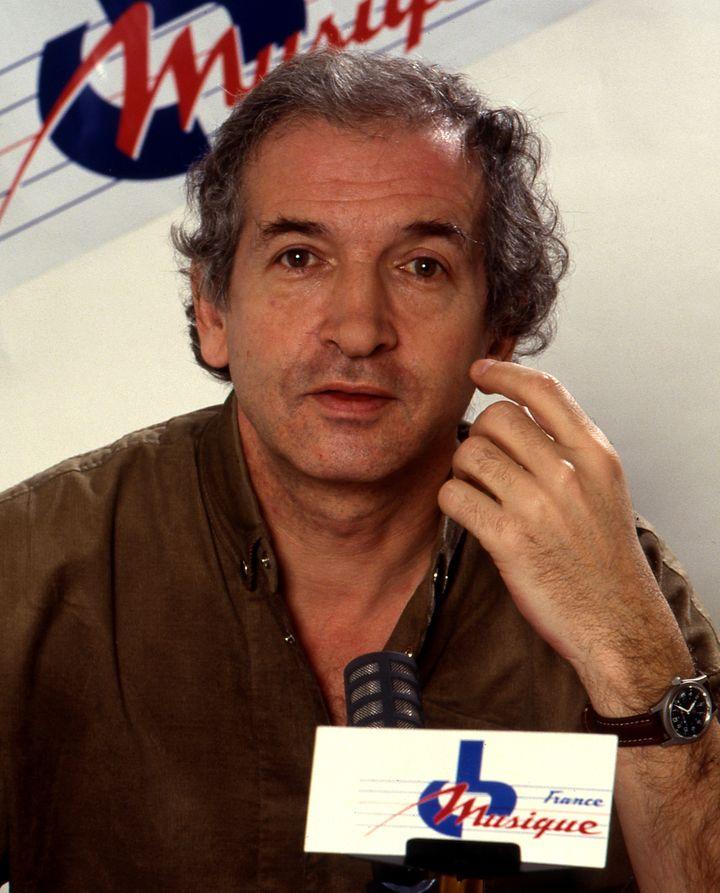 Claude Carrièreà l'époquedes émissions légendaires sur France Musique... (Radio France / Roger Picard)