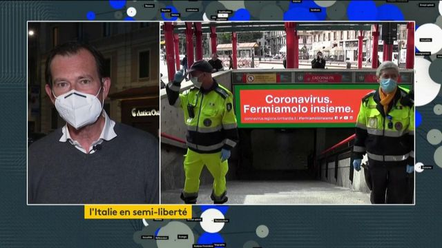 Coronavirus : première journée de déconfinement réussi en Italie