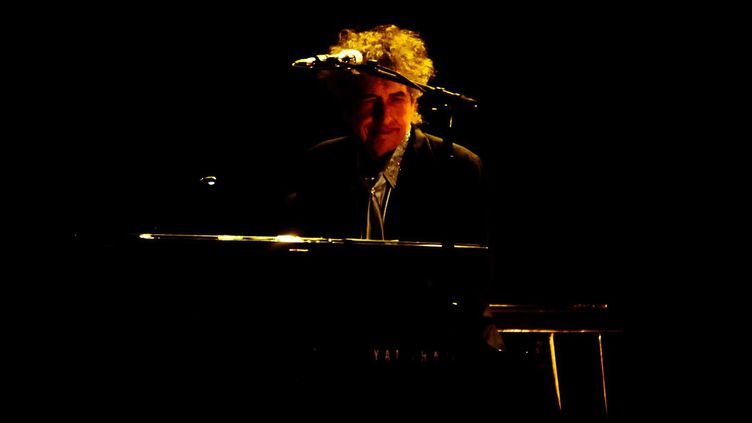 Bob Dylan en concert à Londres en novembre 2013  (HW2/WENN.COM/SIPA)