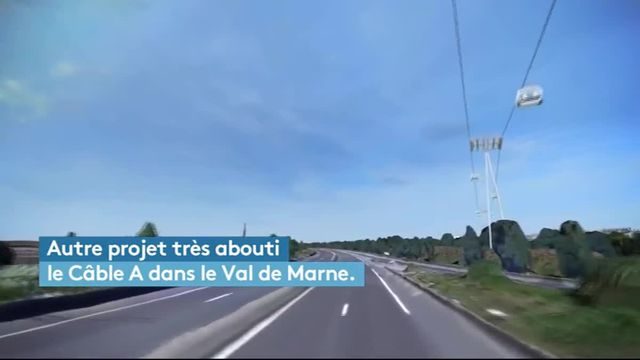 Le syndicat des Transports d'Île-de-France réfléchit à plusieurs projets de téléphériques pour transporter les voyageurs.