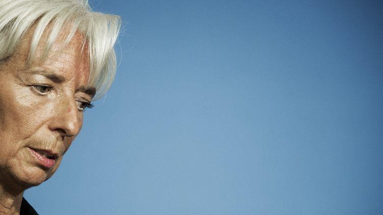 La directrice du Fonds monétaire international (FMI), le 24 septembre 2012 à Washington (Etats-Unis). (PAUL J. RICHARDS / AFP)