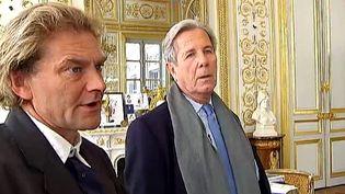 Jean-Marie Roughol et Jean-Louis Debré au Conseil Constitutionnel  (France2/culturebox)