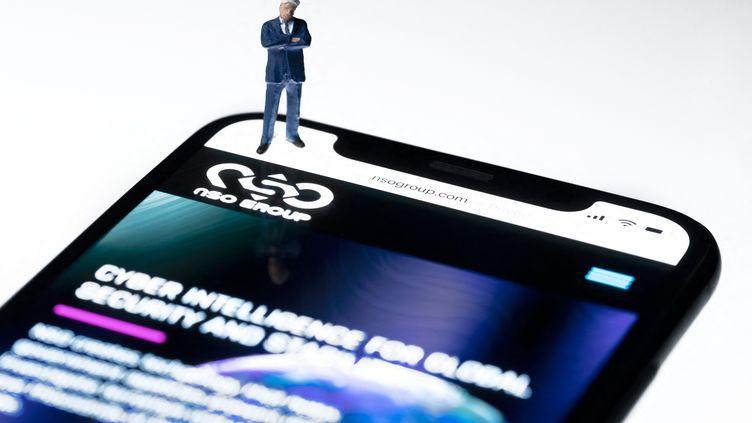 Le logiciel espion Pegasus aurait ciblé 50 000 numéros de téléphone. (Photo d'illustration) (JOEL SAGET / AFP)
