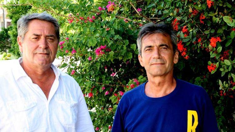 (Les deux pilotes français, ici en 2014, étaient censés attendre leur procès en appel sur place, en République dominicaine © MaxPPP)
