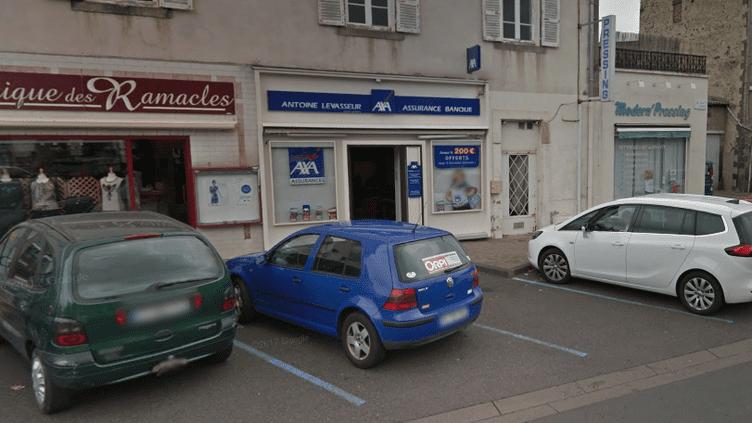 L'agence de la Banque populaire d'Aubière, dans le Puy-de-Dôme. (CAPTURE ECRAN GOOGLE MAPS)