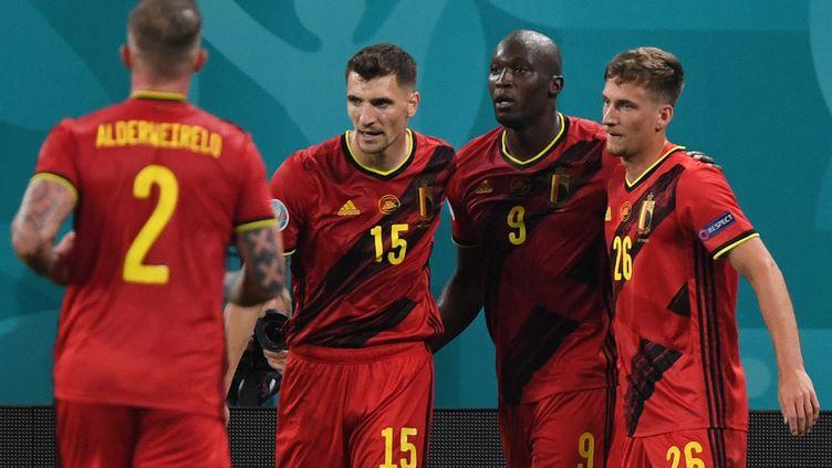 Belgique 2-0 Russie (mi-tps) — Euro