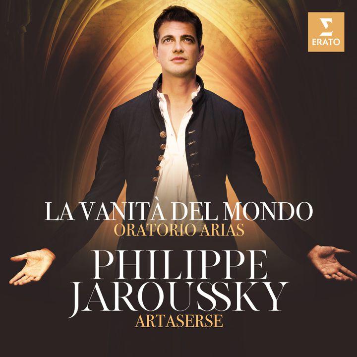 """La pochette du disque de Philippe Jaroussky, """"La vanità del mondo"""". (WARNER CLASSICS/ERATO)"""
