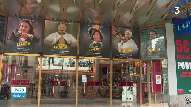des commerçants en tête d'affiche dans des cinémas